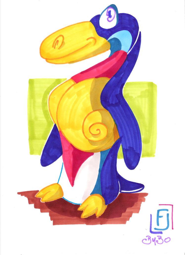 la pingouin 001