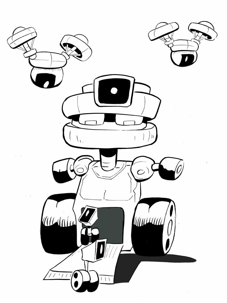 robot photographe 001