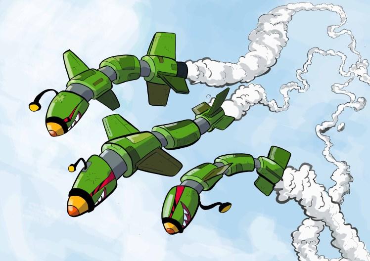 Robot Missile tx280