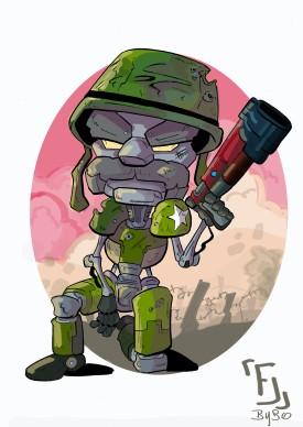 Sergent GF couleur