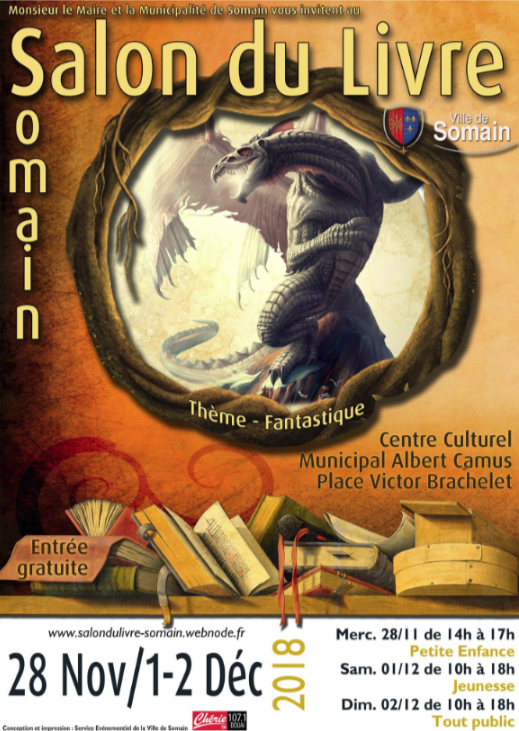 salon du livre somain
